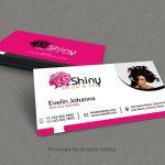 Salon And Spa Free PSD Business Card Mockup