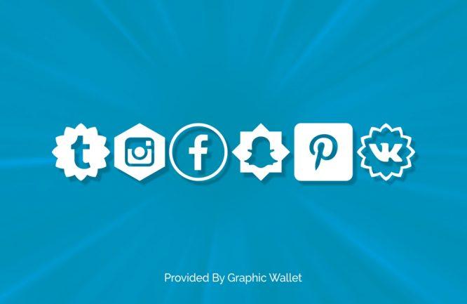 Social Shapes Font
