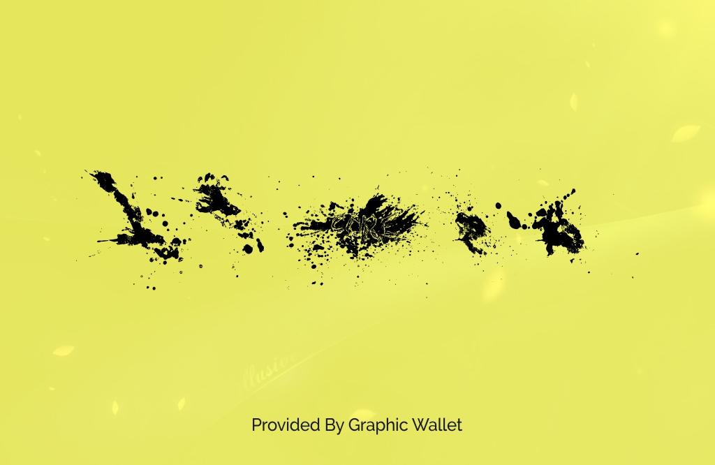Splatter Font