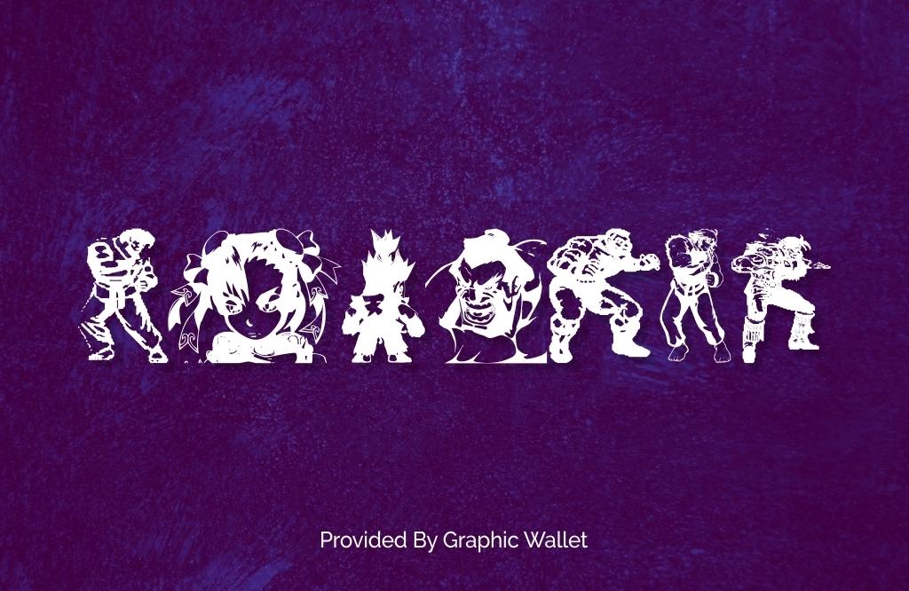 Super Street Fighter Font