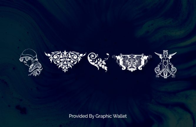 Victorian Free Ornaments Two Font | Graphic Wallet
