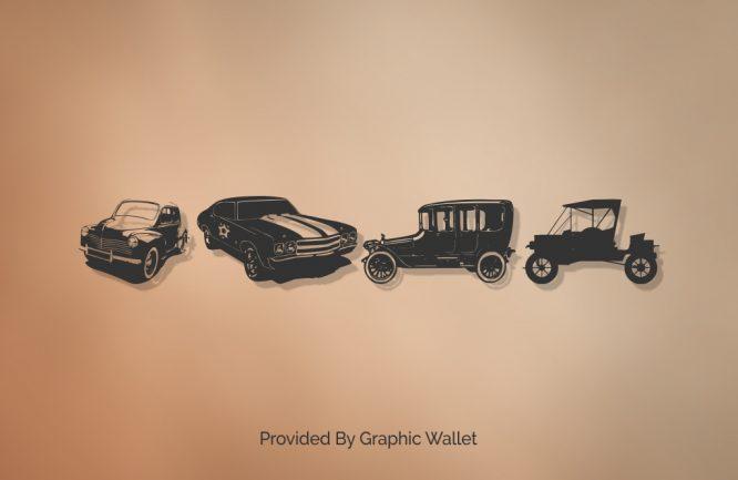 Vintage Auto Cars TFB Font