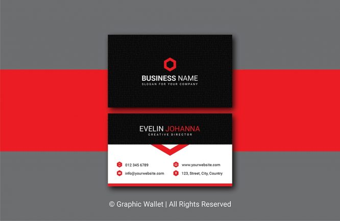 Creative Cracked Texture Premium Business Card