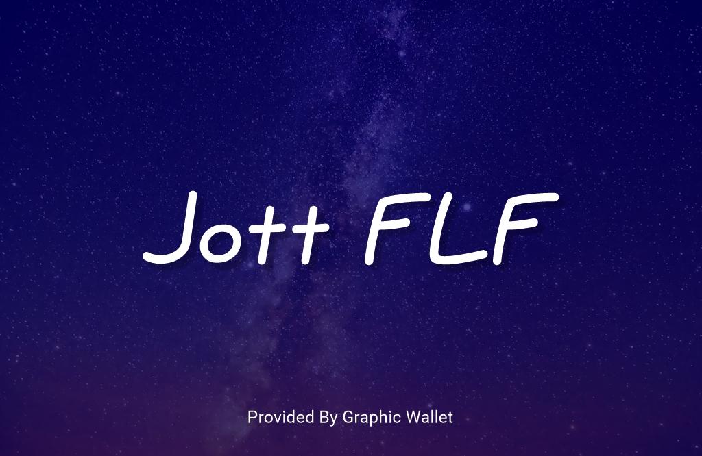 Jott FLF Font