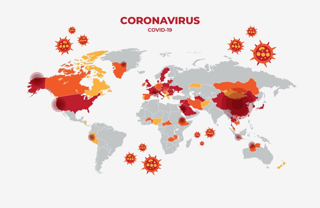 Countries Where COVID-19 Has Spread