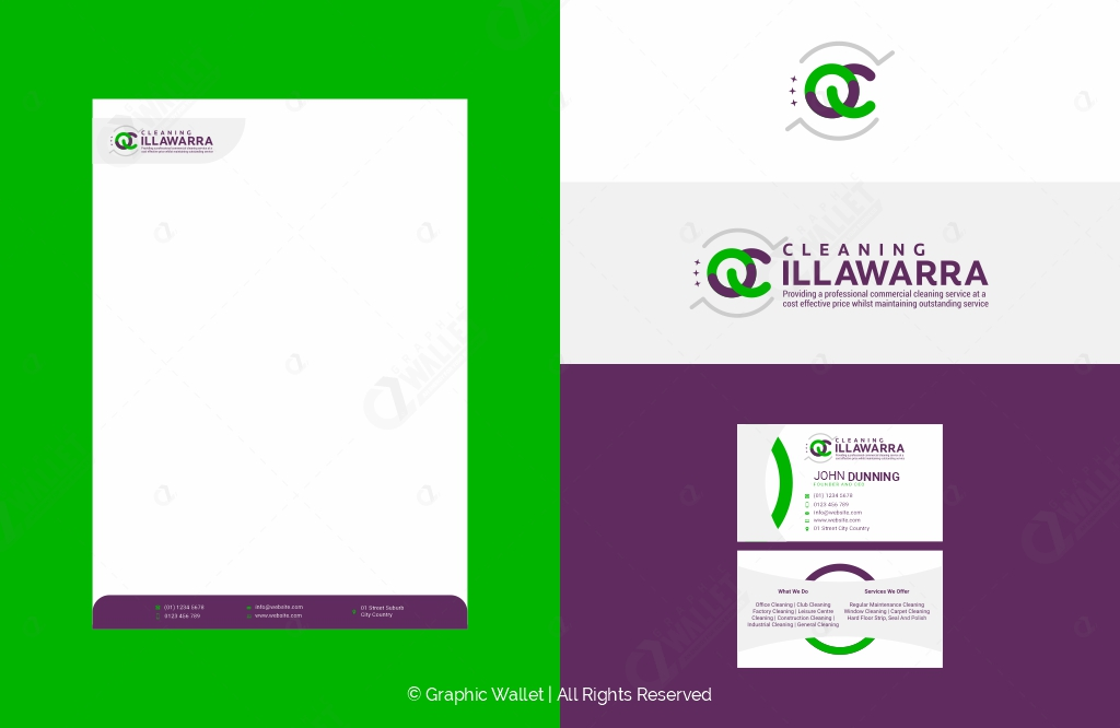QC Cleaning Illawarra – Branding Kit