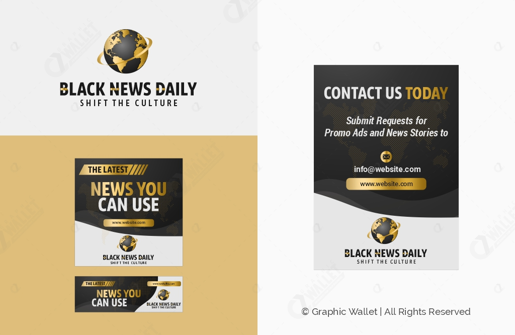 Black News Daily – Branding Kit