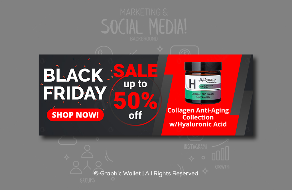 Collagen – Black Friday – Ads Banners #2