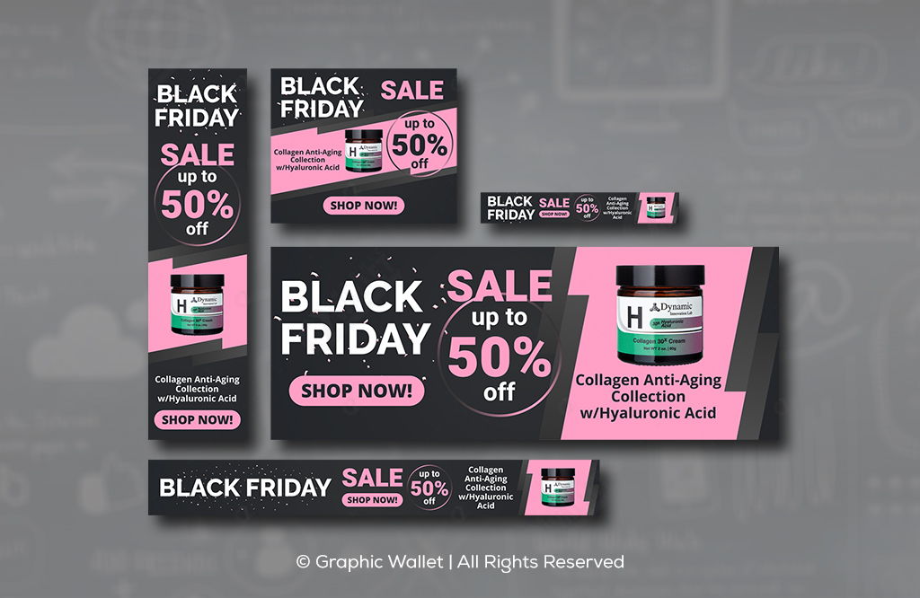 Collagen – Black Friday – Ads Banners #3