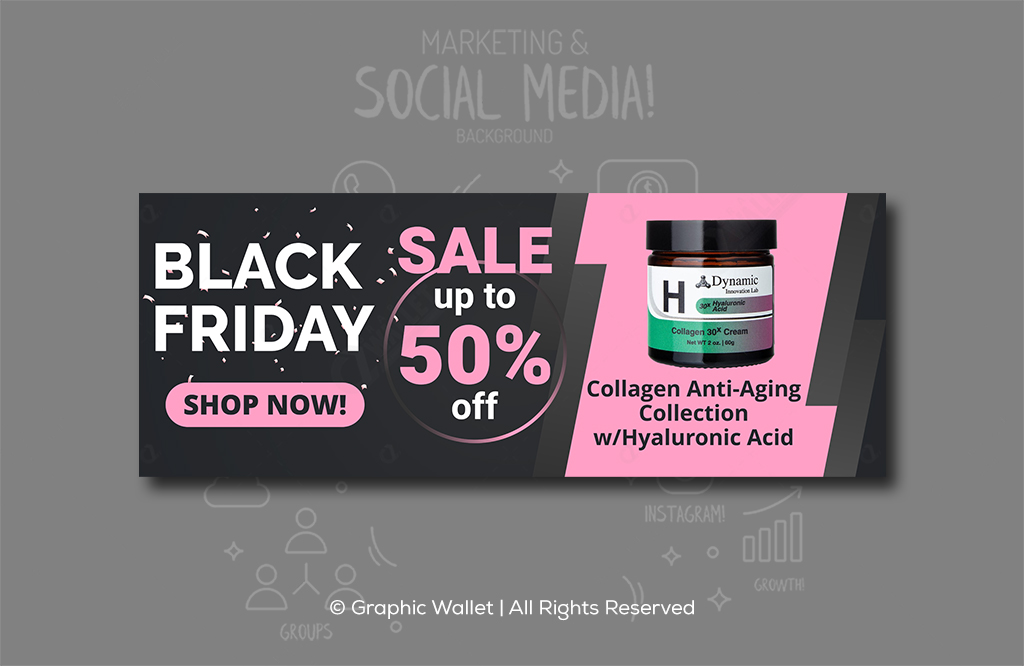 Collagen – Black Friday – Ads Banners #4