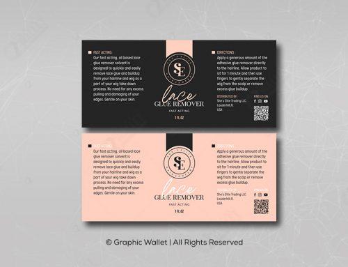 Lace Glue Remover – Label