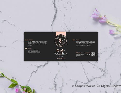 Wig Wax Stick – Label