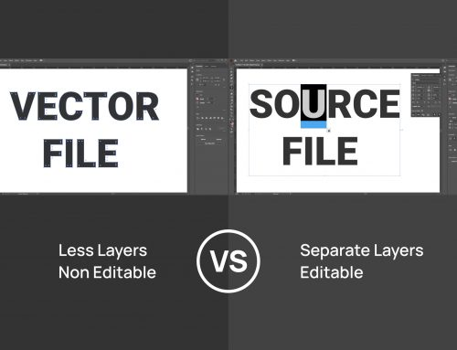 Vector file vs. Source file. What is the difference between them?