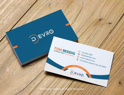 Devro – Business Card #2